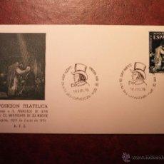 Sellos: PINTURA MATASELLO ESPECIAL - GOYA - 150 ANIVERSARIO DE SU MUERTE - 1978. Lote 42719008