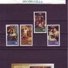 Sellos: BULGARIA, GOYA, 1996, 3678/81 + H.B. 187, PINT118, PINTURA. Lote 45265309