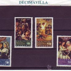 Sellos: BULGARIA, GOYA, 1996, 3678/81, PINT117, PINTURA. Lote 45267344