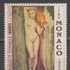 Sellos: MONACO 1226, 2º CENTENARIO DE INGRES: LA SOURCE, NUEVOS***. Lote 45535764