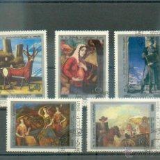 Sellos: SELLOS DE PINTURAS DE RUSIA DE 1981. Lote 45587490