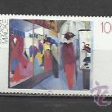 Sellos: 7504-ALEMANIA SERIE COMPLETA PINTURAS ARTE NUEVOS MNH**. GERMANY NEW COMPLETE SERIES ART PAINTINGS M. Lote 52532966