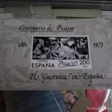 Sellos: 336.- CENTENARIO DE PICASSO-EL GUERNICA EN ESPAÑA-SELLO CONMEMORATIVO. Lote 56956189