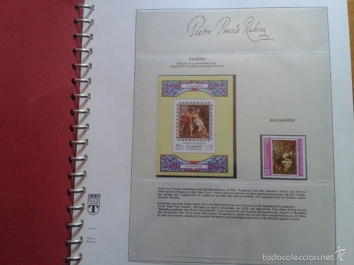 Sellos: ALBUM CON SELLOS Y BLOQUES DEL FAMOSO PINTOR BARROCO RUBENS- ARTE- PINTURA- RELIGION- MITOLOGIA- I - Foto 2 - 57167419