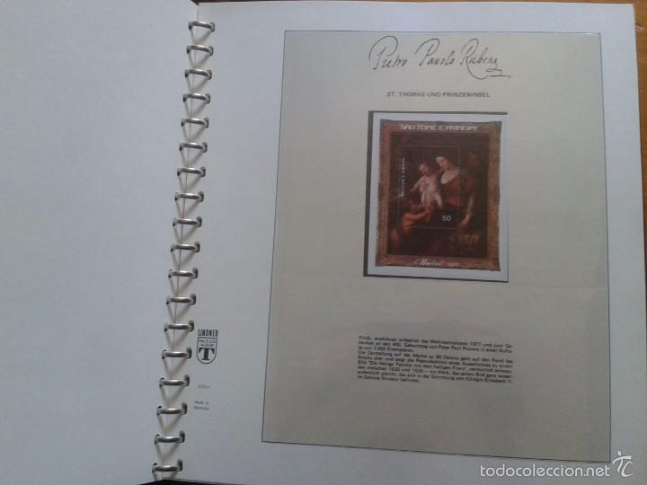 Sellos: ALBUM CON SELLOS Y BLOQUES DEL FAMOSO PINTOR BARROCO RUBENS- ARTE- PINTURA- RELIGION- MITOLOGIA- I - Foto 4 - 57167419