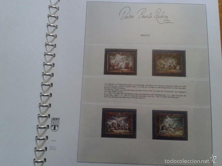 Sellos: ALBUM CON SELLOS Y BLOQUES DEL FAMOSO PINTOR BARROCO RUBENS- ARTE- PINTURA- RELIGION- MITOLOGIA- I - Foto 6 - 57167419