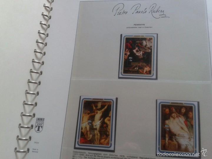 Sellos: ALBUM CON SELLOS Y BLOQUES DEL FAMOSO PINTOR BARROCO RUBENS- ARTE- PINTURA- RELIGION- MITOLOGIA- I - Foto 12 - 57167419