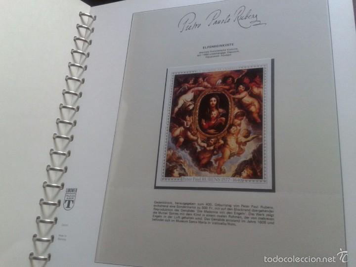 Sellos: ALBUM CON SELLOS Y BLOQUES DEL FAMOSO PINTOR BARROCO RUBENS- ARTE- PINTURA- RELIGION- MITOLOGIA- I - Foto 13 - 57167419