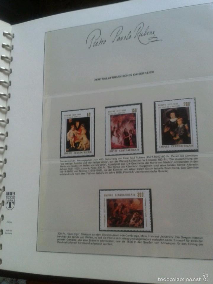Sellos: ALBUM CON SELLOS Y BLOQUES DEL FAMOSO PINTOR BARROCO RUBENS- ARTE- PINTURA- RELIGION- MITOLOGIA- I - Foto 15 - 57167419