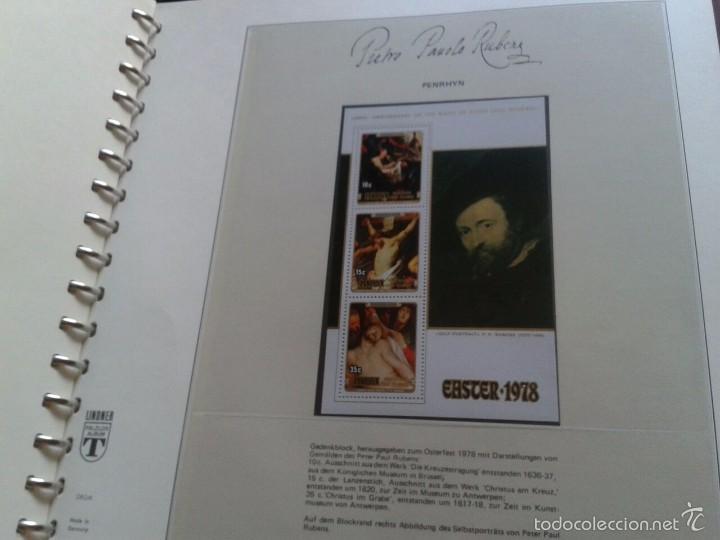 Sellos: ALBUM CON SELLOS Y BLOQUES DEL FAMOSO PINTOR BARROCO RUBENS- ARTE- PINTURA- RELIGION- MITOLOGIA- I - Foto 19 - 57167419