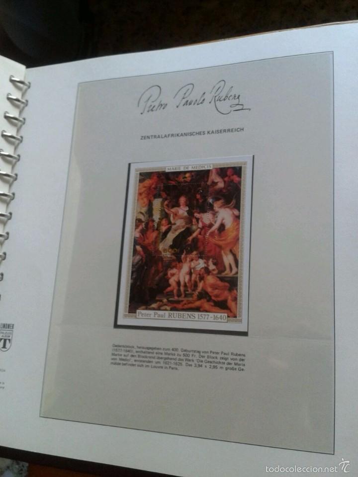 Sellos: ALBUM CON SELLOS Y BLOQUES DEL FAMOSO PINTOR BARROCO RUBENS- ARTE- PINTURA- RELIGION- MITOLOGIA- I - Foto 20 - 57167419