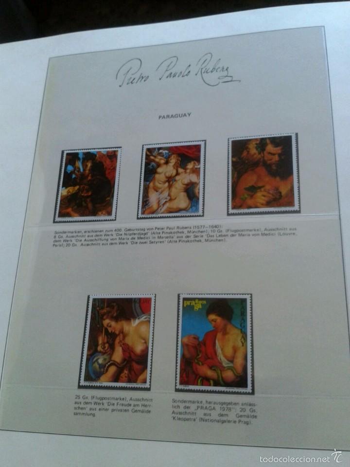 Sellos: ALBUM CON SELLOS Y BLOQUES DEL FAMOSO PINTOR BARROCO RUBENS- ARTE- PINTURA- RELIGION- MITOLOGIA- I - Foto 23 - 57167419