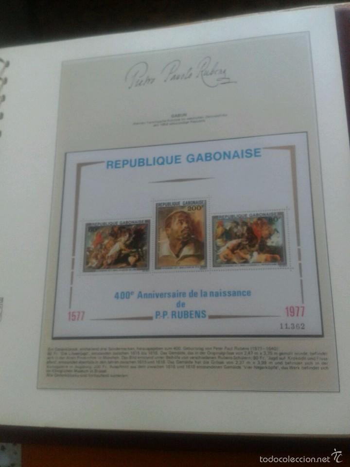 Sellos: ALBUM CON SELLOS Y BLOQUES DEL FAMOSO PINTOR BARROCO RUBENS- ARTE- PINTURA- RELIGION- MITOLOGIA- I - Foto 30 - 57167419