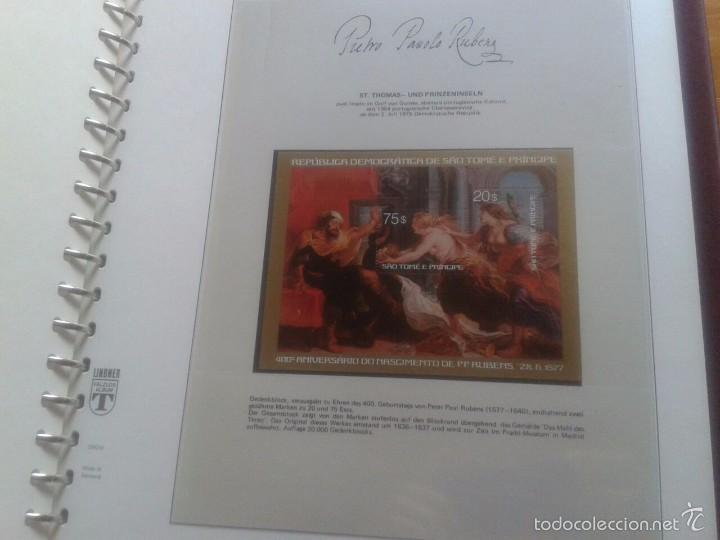 Sellos: ALBUM CON SELLOS Y BLOQUES DEL FAMOSO PINTOR BARROCO RUBENS- ARTE- PINTURA- RELIGION- MITOLOGIA- I - Foto 31 - 57167419