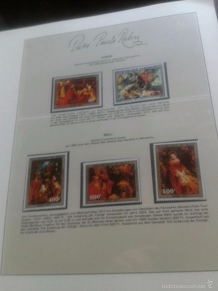 Sellos: ALBUM CON SELLOS Y BLOQUES DEL FAMOSO PINTOR BARROCO RUBENS- ARTE- PINTURA- RELIGION- MITOLOGIA- I - Foto 33 - 57167419