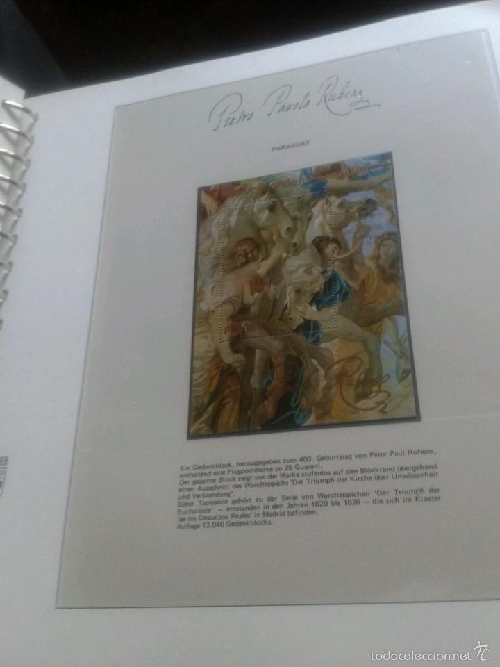 Sellos: ALBUM CON SELLOS Y BLOQUES DEL FAMOSO PINTOR BARROCO RUBENS- ARTE- PINTURA- RELIGION- MITOLOGIA- I - Foto 35 - 57167419