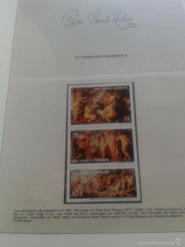 Sellos: ALBUM CON SELLOS Y BLOQUES DEL FAMOSO PINTOR BARROCO RUBENS- ARTE- PINTURA- RELIGION- MITOLOGIA- I - Foto 37 - 57167419