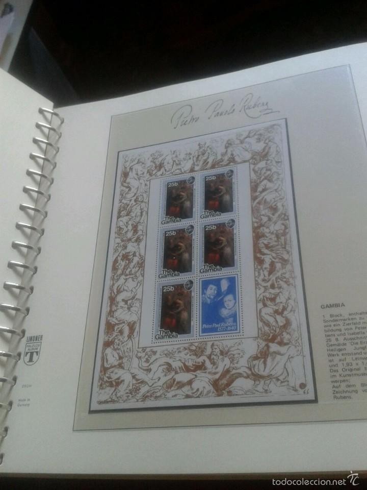Sellos: ALBUM CON SELLOS Y BLOQUES DEL FAMOSO PINTOR BARROCO RUBENS- ARTE- PINTURA- RELIGION- MITOLOGIA- I - Foto 41 - 57167419