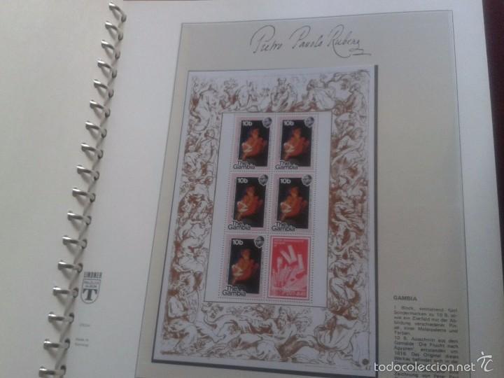Sellos: ALBUM CON SELLOS Y BLOQUES DEL FAMOSO PINTOR BARROCO RUBENS- ARTE- PINTURA- RELIGION- MITOLOGIA- I - Foto 42 - 57167419