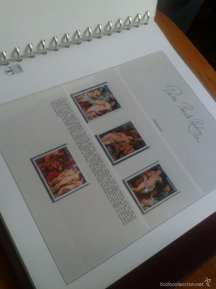 Sellos: ALBUM CON SELLOS Y BLOQUES DEL FAMOSO PINTOR BARROCO RUBENS- ARTE- PINTURA- RELIGION- MITOLOGIA- I - Foto 48 - 57167419