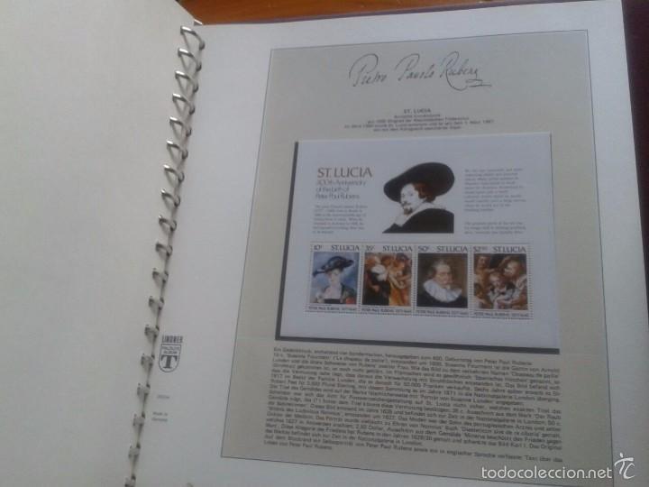 Sellos: ALBUM CON SELLOS Y BLOQUES DEL FAMOSO PINTOR BARROCO RUBENS- ARTE- PINTURA- RELIGION- MITOLOGIA- I - Foto 51 - 57167419