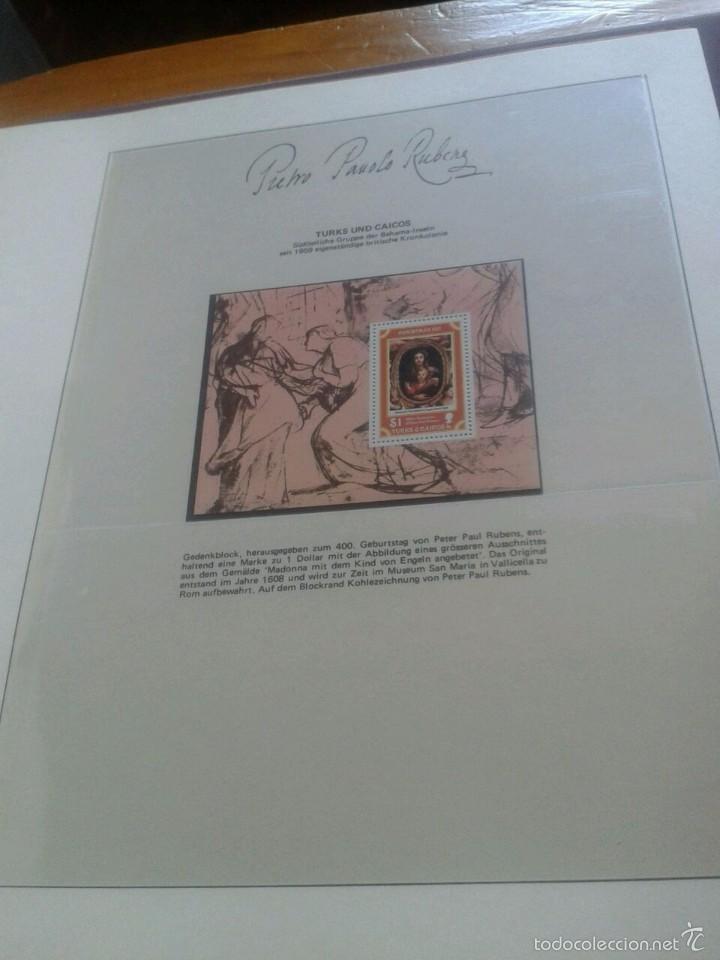 Sellos: ALBUM CON SELLOS Y BLOQUES DEL FAMOSO PINTOR BARROCO RUBENS- ARTE- PINTURA- RELIGION- MITOLOGIA- I - Foto 52 - 57167419