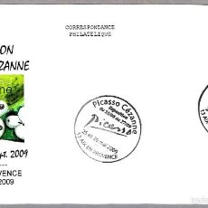 Sellos: PINTURA - EXPOSICION PICASSO CEZANNE. AIX EN PROVENCE, FRANCIA, 2009. Lote 58106493