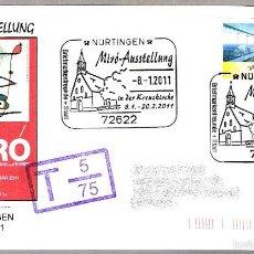 Sellos: EXPOSICION DE PINTURA - JOAN MIRO. NURTINGEN, ALEMANIA, 2011. Lote 58133013