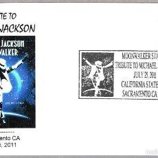 Sellos: CINE - MOONWALKER - UN HOMENAHE A MICHAEL JACKSON. SACRAMENTO CA 2011. Lote 58210166