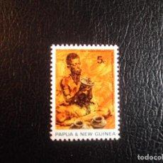 Timbres: PAPUA/NUEVA GUINEA. 164 ANIVERSARIO ORGANIZACIÓN INTERNACIONAL DEL TRABAJO (OIT). 1969. SELLOS NUEVO. Lote 69598429