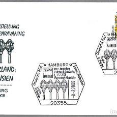 Sellos: MATASELLOS FERIA TURISMO - INVITADO: ANDALUCIA - MEZQUITA DE CORDOBA. HAMBURG, ALEMANIA, 2006. Lote 75135935