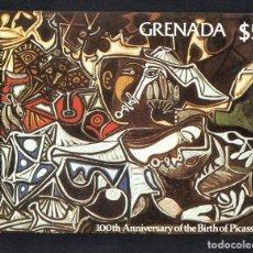 Sellos: GRANADA HB 92** - AÑO 1981 - PINTURA - CENTENARIO DEL NACIMIENTO DE PABLO PICASSO. Lote 75851531