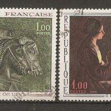 Sellos: FRANCIA. 1966. YV.Nº 1478,1479. Lote 79621865