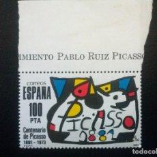 Timbres: ESPAÑA , EDIFIL 2609 ** SIN CHARNELA, PINTURA PICASSO . Lote 88778116