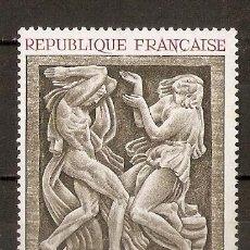 Sellos: FRANCIA. 1968. YV.Nº 1569. ARTE. Lote 93091075