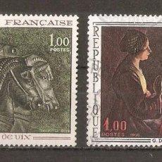Sellos: FRANCIA. 1966. YV.Nº 1478,1479. Lote 93092135