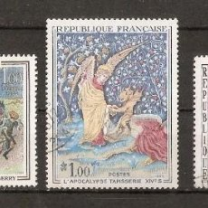 Sellos: FRANCIA. 1965. YV Nº 1457,1458,1459. PINTURA. ARTE. Lote 102086831