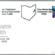 Sellos: MATASELLOS CINE - DEAN MARTIN. STEUBENVILLE OH 2002. Lote 104431067