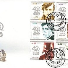 Sellos: PORTUGAL & FDC 40 ANOS STAR WARS 2017 (787) . Lote 106572459