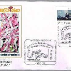 Sellos: MATASELLOS COMICS - EXPOSICION DE MORDILLO. OBERHAUSEN, ALEMANIA, 2017. Lote 109305739