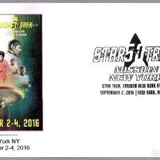 Sellos: MATASELLOS DE CINE - STAR TREK - MISSION NEW YORK. NEW YORK NY, ESTADOS UNIDOS, 2016. Lote 110564523