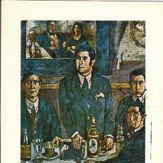 Sellos: EDIFIL 2084, SOLANA: LA TERTULIA DEL POMBO, TARJETA MAXIMA DE PRIMER DÍA DE 24-3-1972. Lote 112254687