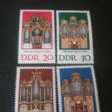 Sellos: SELLOS DE ALEMANIA, R. D. (DDR) NUEVOS. 1976. ORGANOS. SONIDO. MUSICA. RELIGION.. Lote 115708142