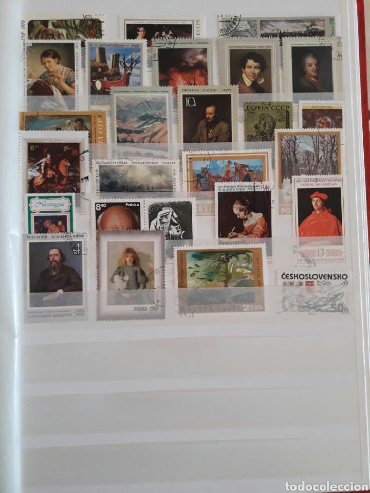 Sellos: Lote 100 sellos Pintura. Arte. - Foto 3 - 118458284