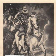 Sellos: EDIFIL 1437, RUBENS: EL DUQUE DE LERMA, TARJETA MÁXIMA DE 28-5-1962. Lote 120554715