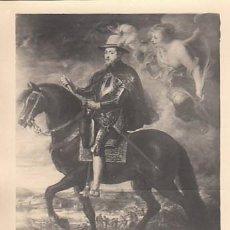 Sellos: EDIFIL 1436, RUBENS: FELIPE II, TARJETA MÁXIMA DE 28-5-1962. Lote 120554903