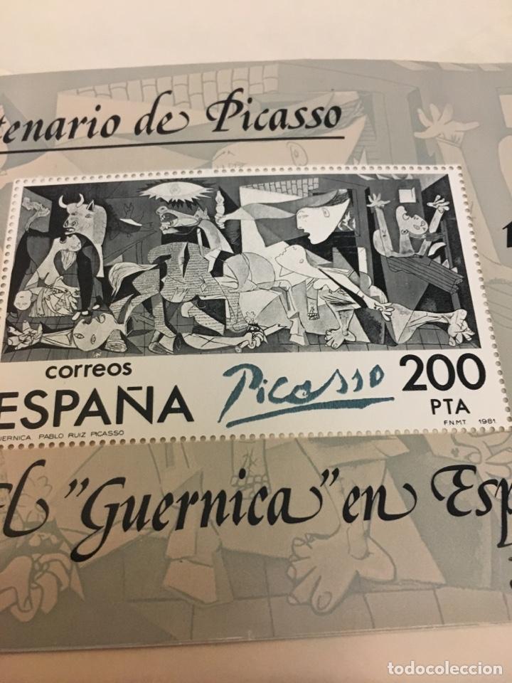 Sellos: Sello gran tamaño de EL GUERNICA EN ESPAÑA 200 pts - Foto 2 - 132691846