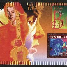 Timbres: GUINEA 2006 HOJA BLOQUE SELLOS LEYENDAS DE LA MUSICA- THE BEATLES- PAUL MC CARTNEY. Lote 138629666