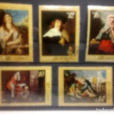 Sellos: PINTURAS DEL MUSEO DE SAN PETERSBURGO. RUSIA 1971. Lote 143642026