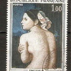 Sellos: FRANCIA. 1967. YT Nº 1530. PINTURA. ARTE. Lote 144623962